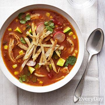 Chicken & Lime Tortilla Soup