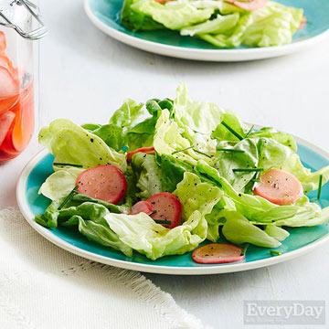 Quick Pickled Radishes
