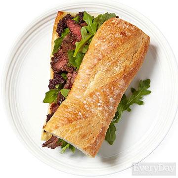 Steak & Olive Tapenade Sandwiches