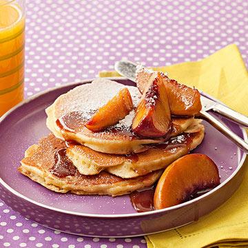 Peach Pancakes