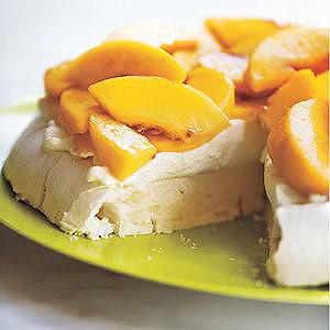 Peaches 'n' Cream Meringue