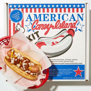Michigan -- Coney Island Hot Dog