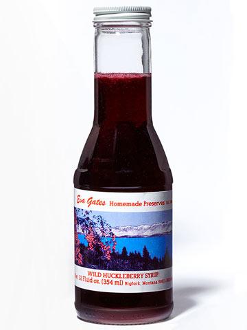 Montana -- Wild Huckleberry Syrup
