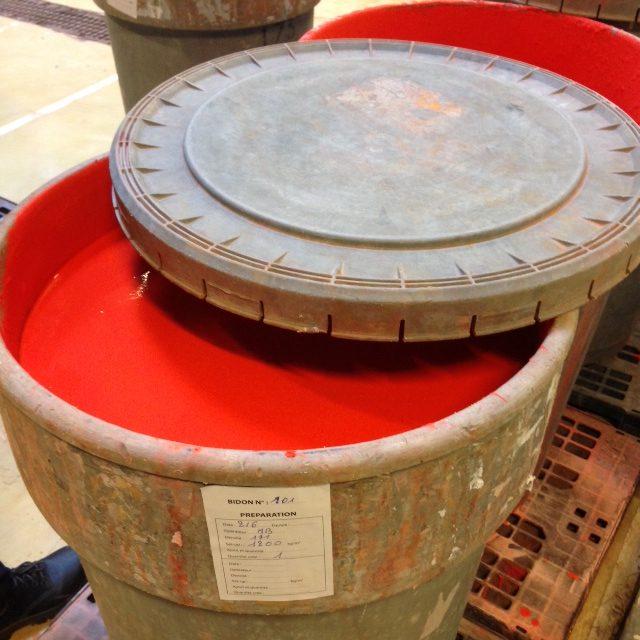 barrel of glaze