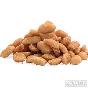 Honey-roasted peanuts