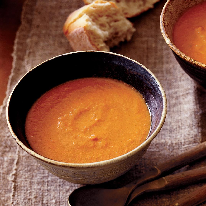 Creamy Tomato-Vodka Soup