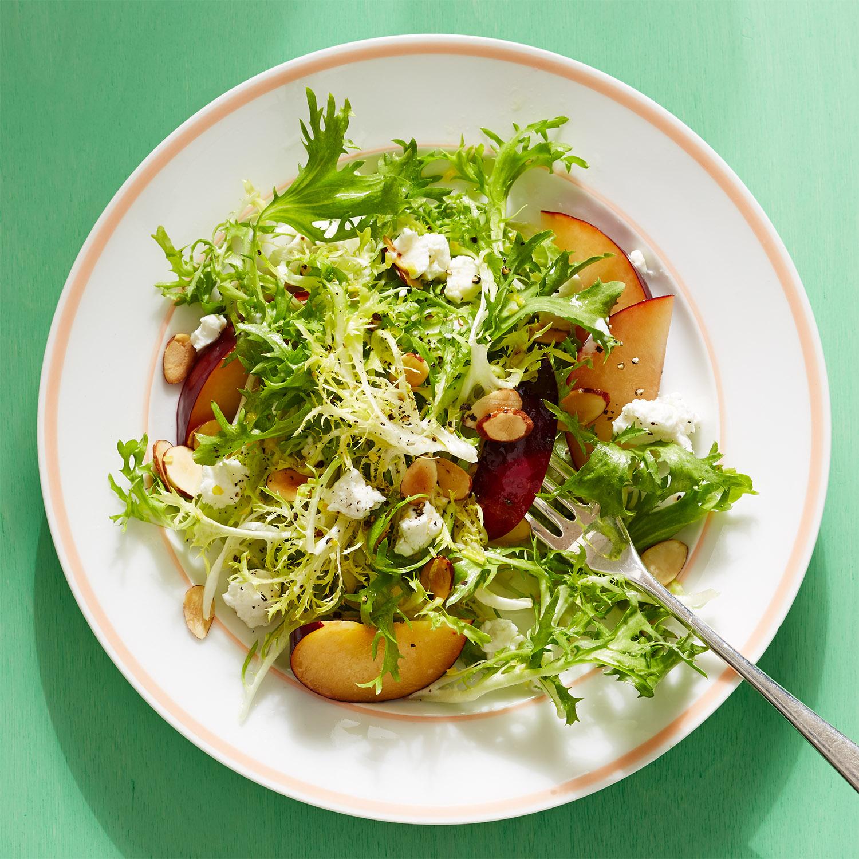 Plum Delicious Frisée Salad