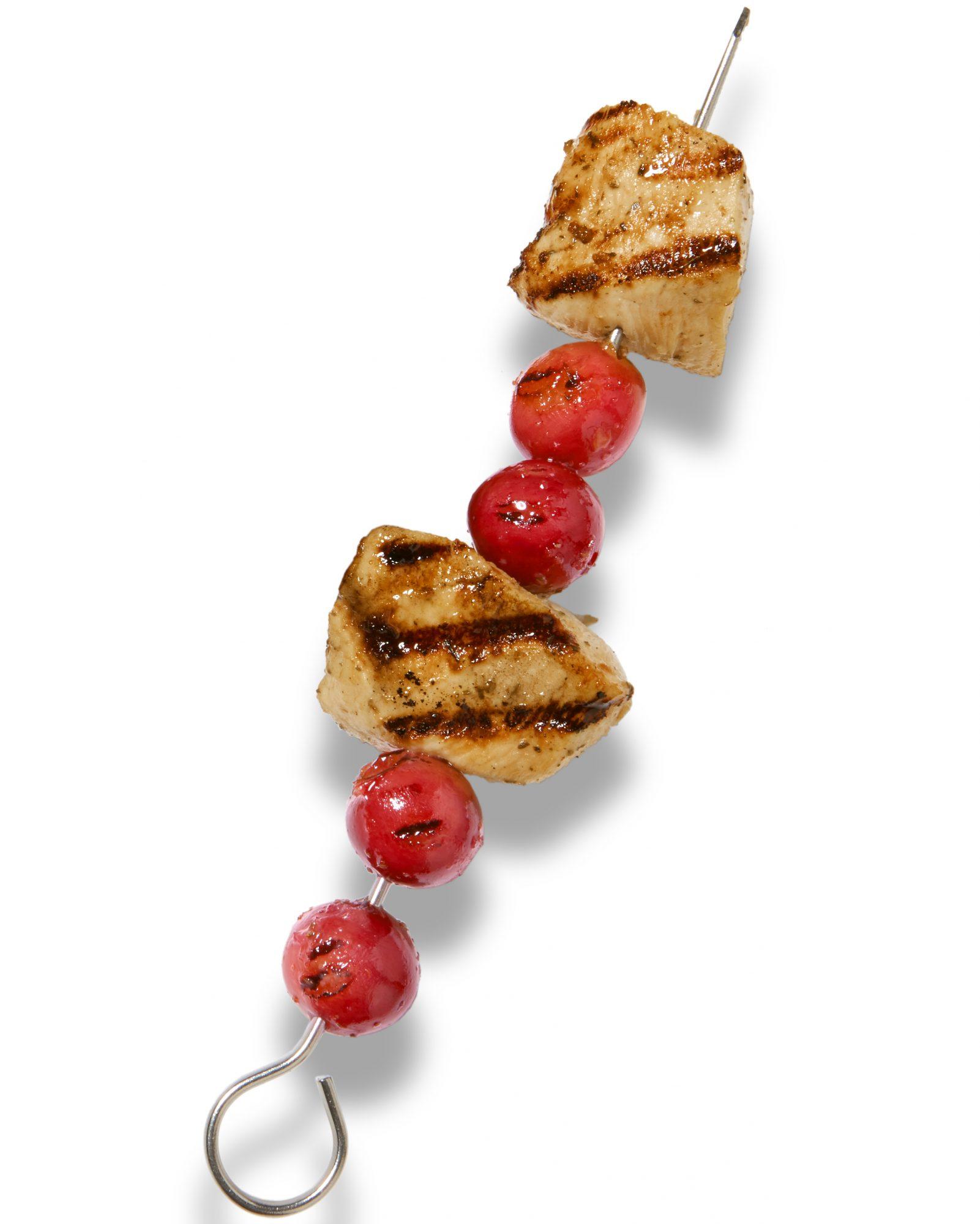 Fruity Chicken Skewers