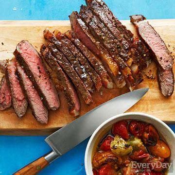 Steak & Tomatoes