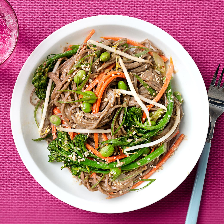Oodles of Soba Noodles & Veggie Bowls