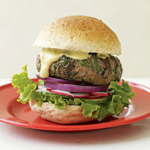 Audacious, Herbaceous Beef Burgers