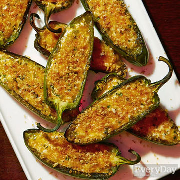 Goat Cheese Jalapeno Poppers
