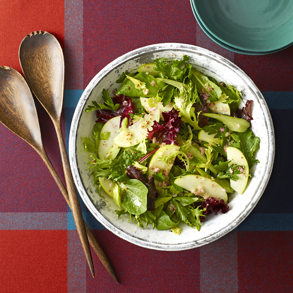 sweet and savory winter salad