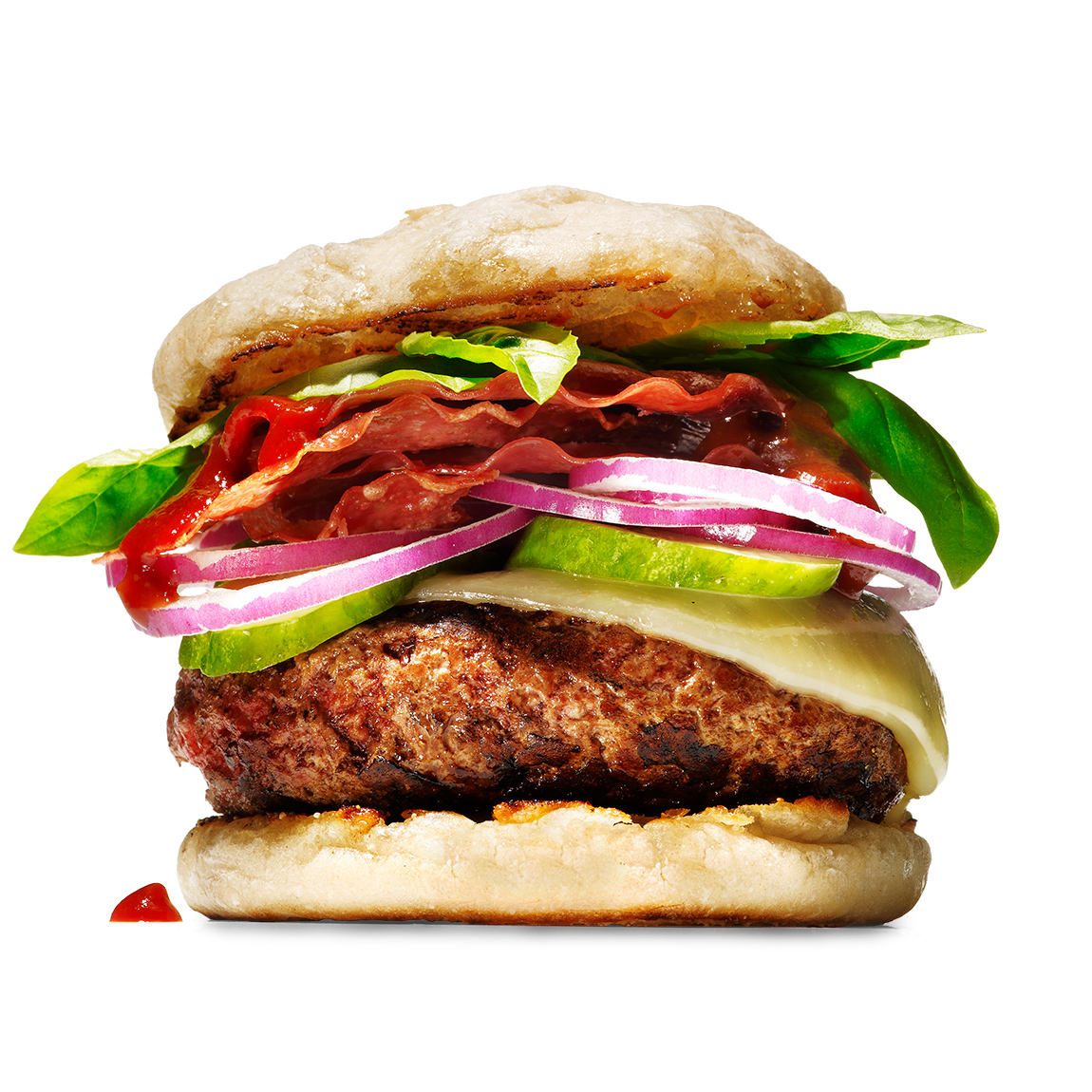 """Michael Symon's """"Yo, Rach!"""" Burger"""