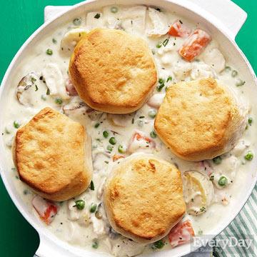Creamy Chicken & Biscuits