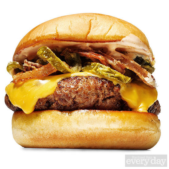 Shake Shack Burger with Pickled Jalapeños