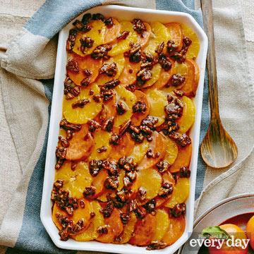 joy philbin's sweet potato and orange casserole