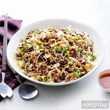 Tingly Szechuan Pepper Beef Noodles