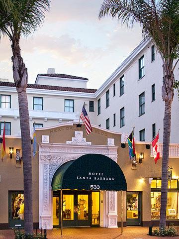 California, Hotel Santa Barbara