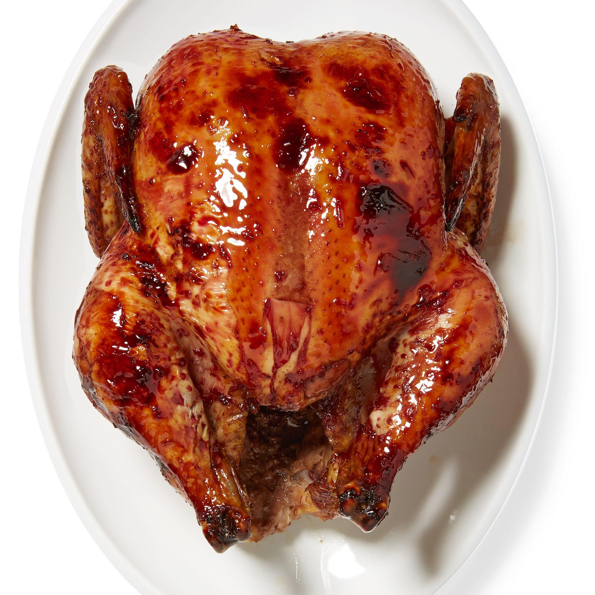 Pom-Roasted Chicken