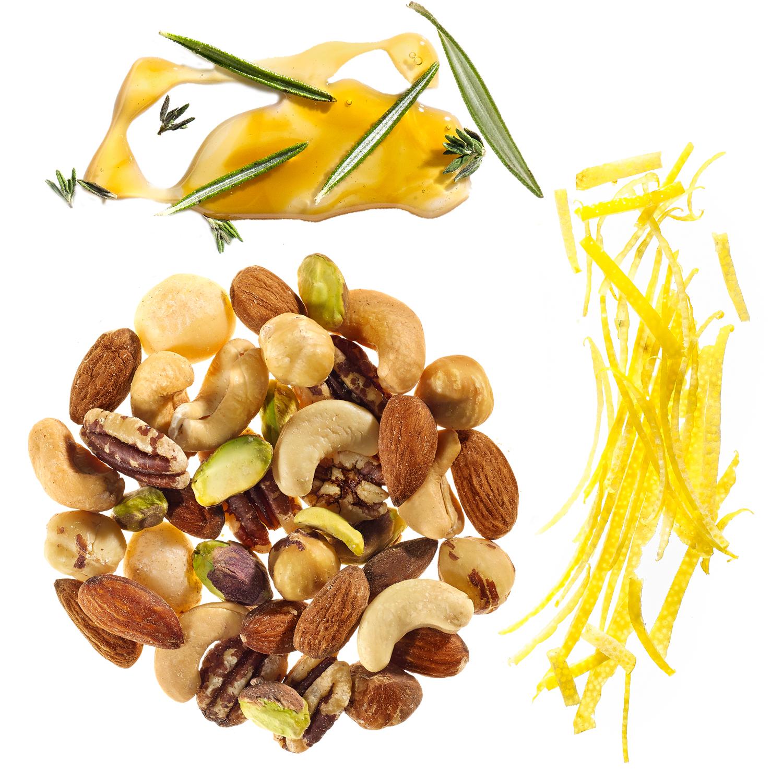 lemon & herbs party nuts