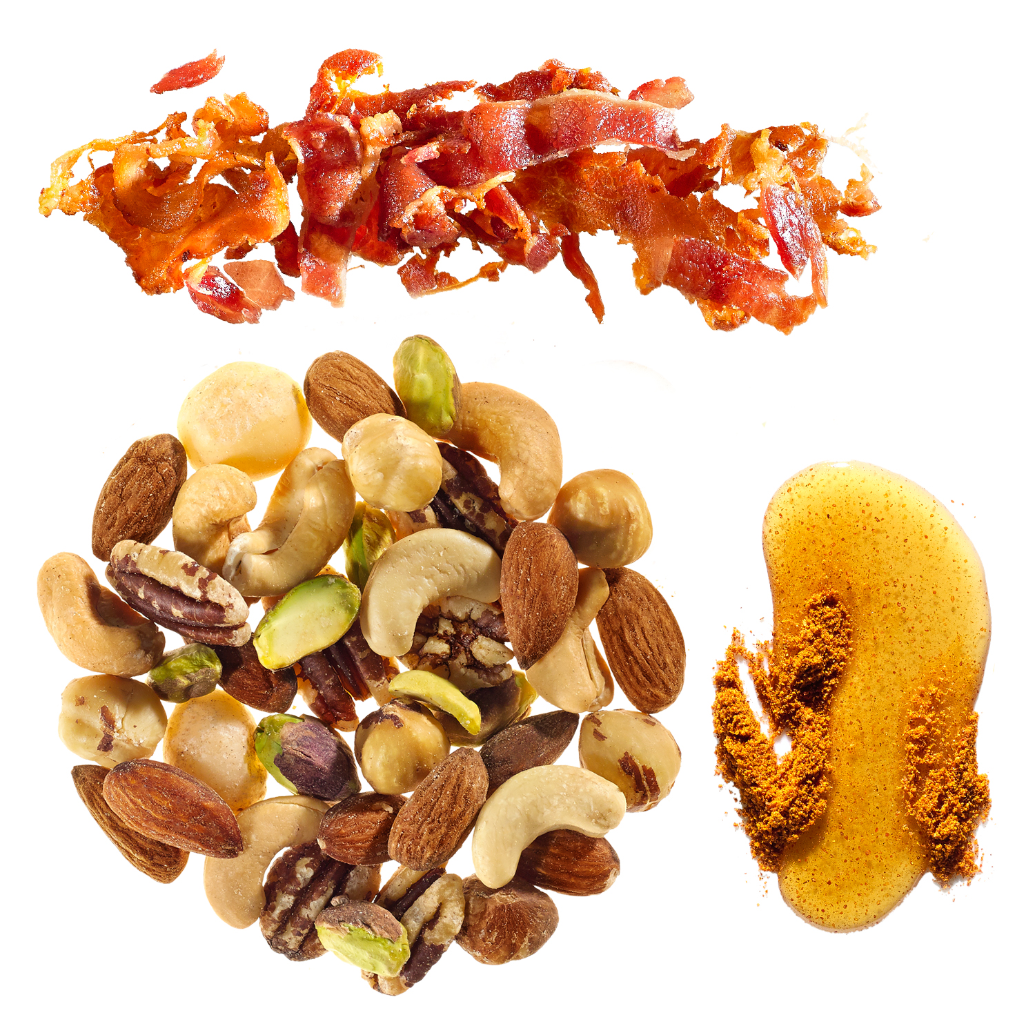 maple-bacon party nuts