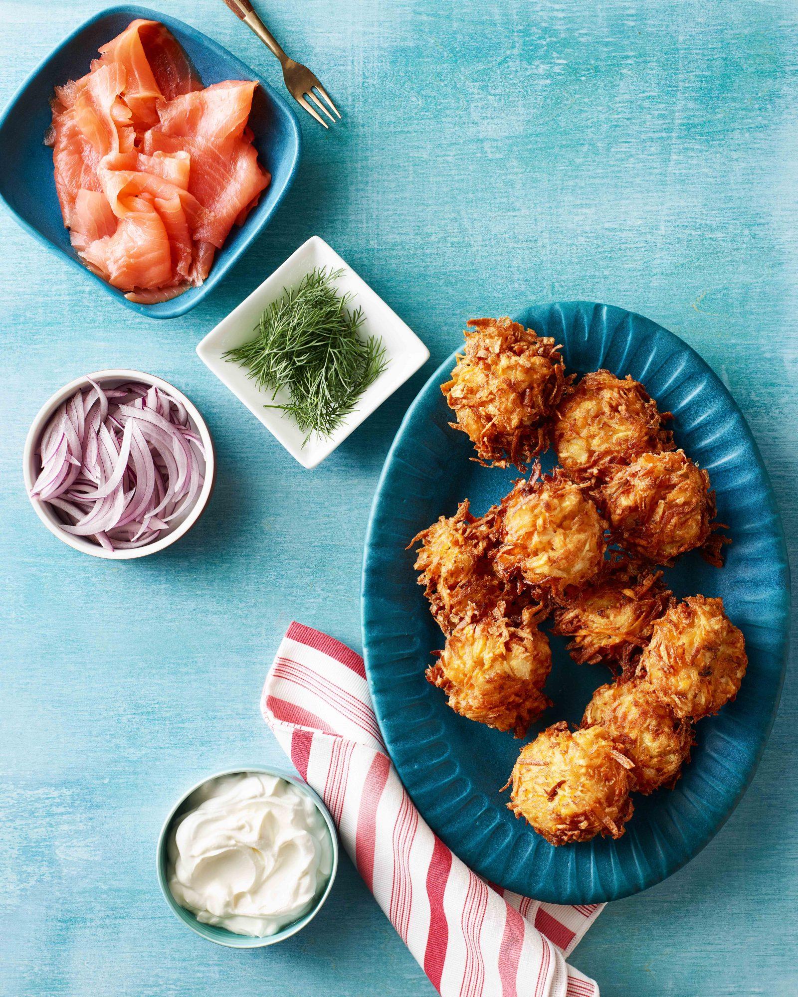 Double-Potato Latkes
