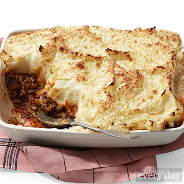 Moussaka-Style Shepherd's Pie