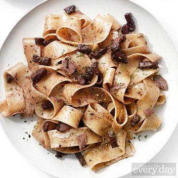Pappardelle in Chianti Sauce