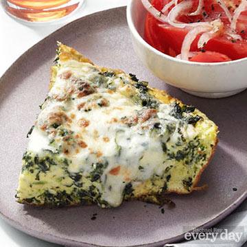 White Pizza Frittata