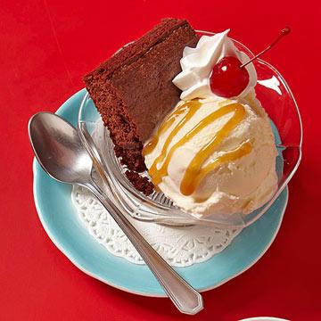 Brownie Sundaes