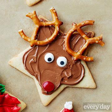 Rudolph cookie