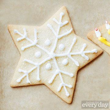 Snowflake cookie