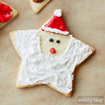 Starry Santa cookie