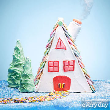 A-Frame Gingerbread House