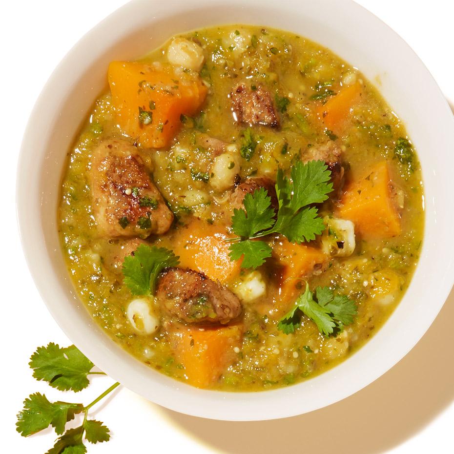 Spicy Pork & Butternut Squash Stew