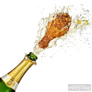 Fried Chicken and Champagne