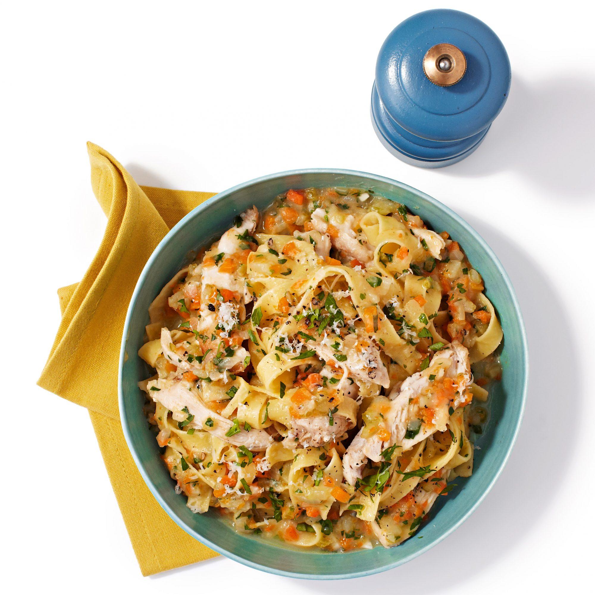 Chicken & Vegetable Tagliatelle