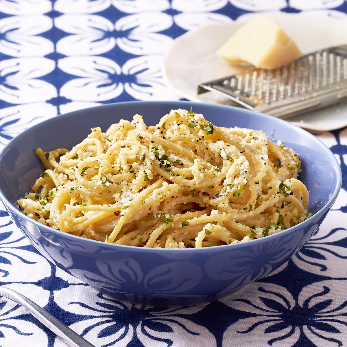 Lemon-Tarragon Parm Pasta