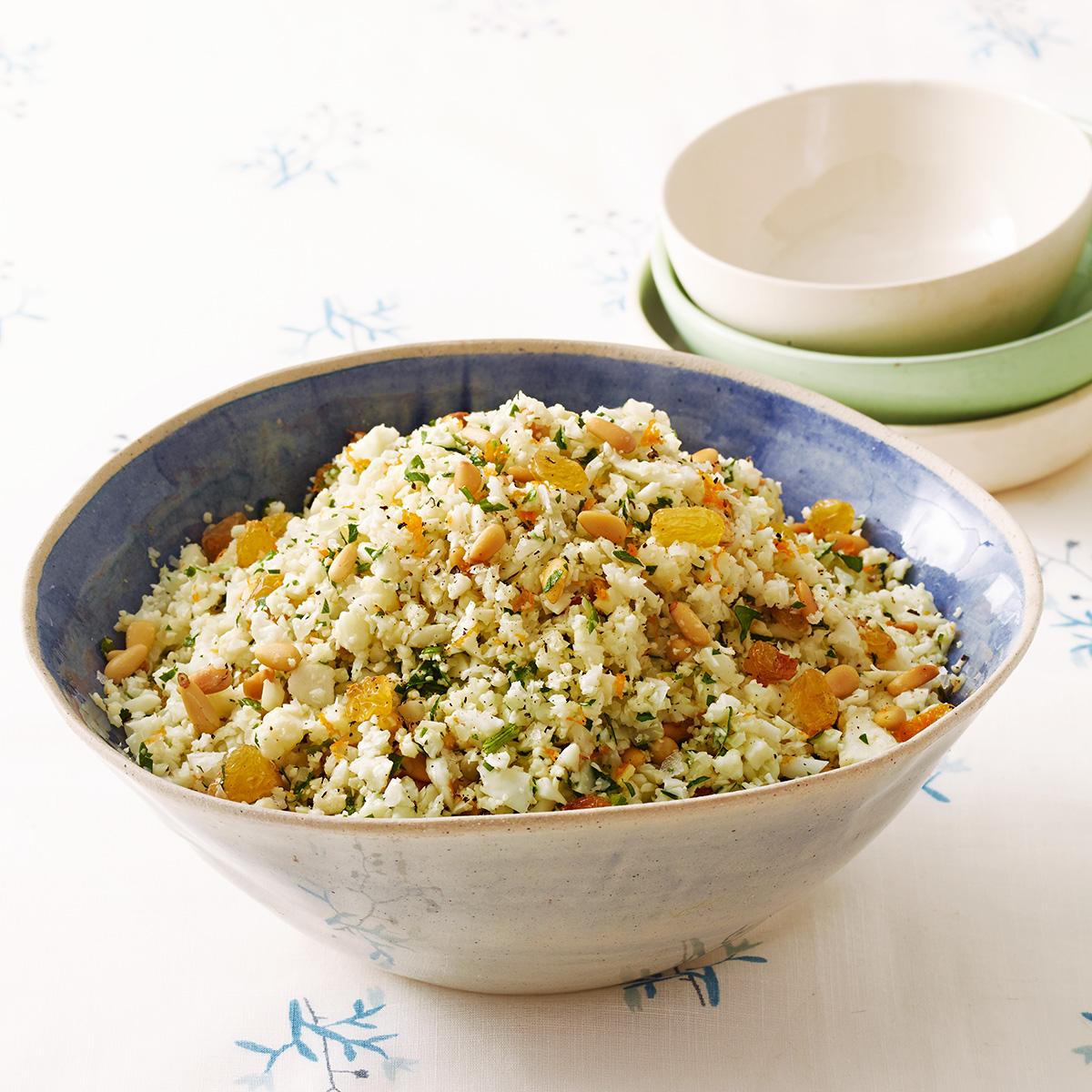 Zesty Cauliflower Rice