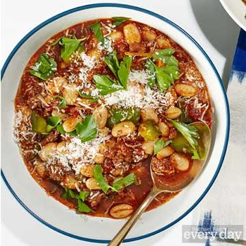 Amanda Freitag's Italian Sausage Chili