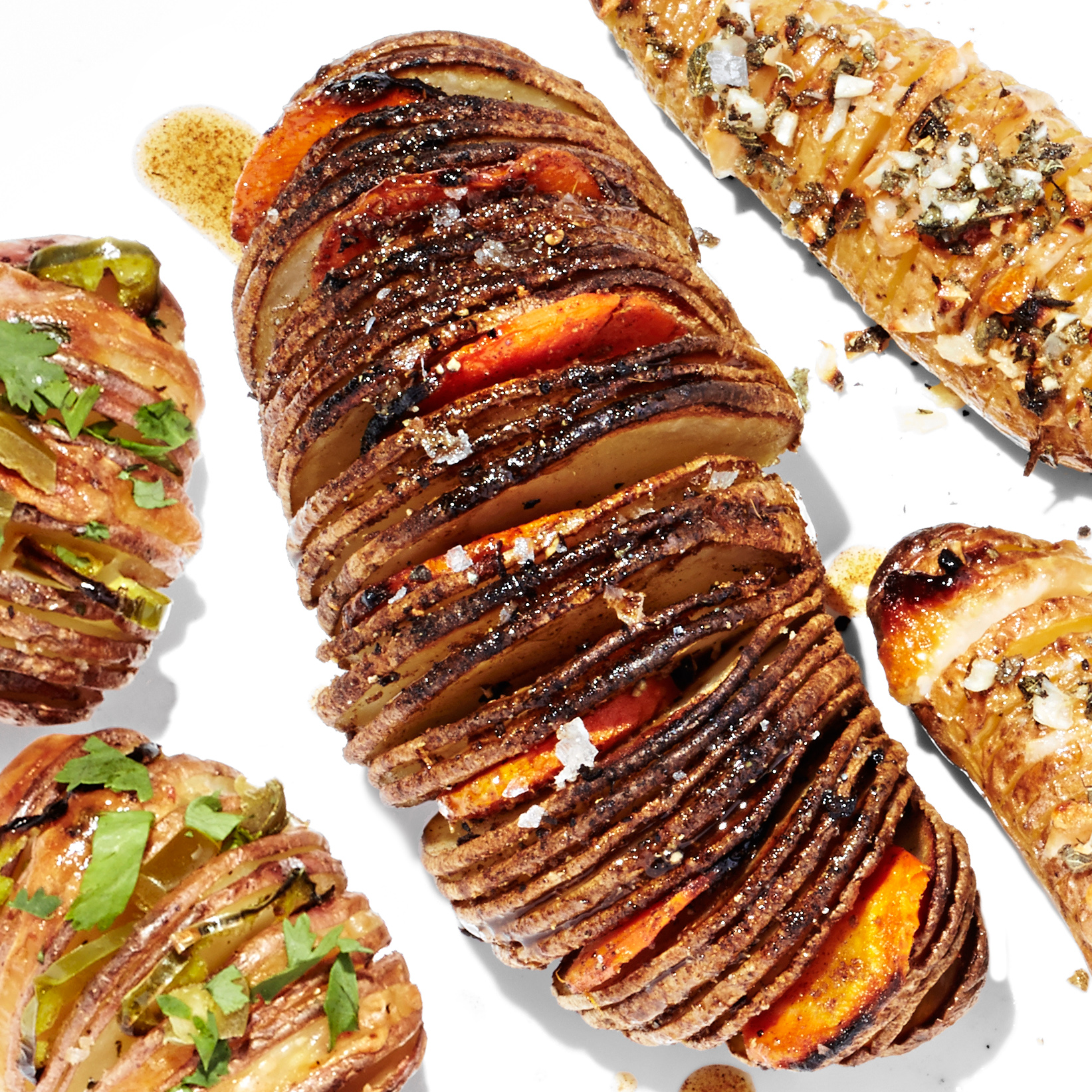 carrot top hasselback potatoes