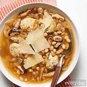 Meatball-Mushroom Soup