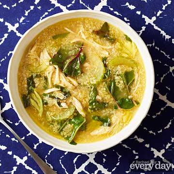 Chicken, Chard & Quinoa Soup
