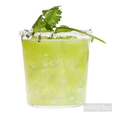 Honeydew-Cilantro Margarita