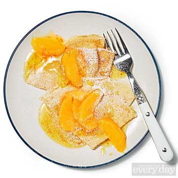 Triple-Orange Crepes