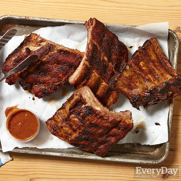 Spice-Rubbed Baby Back Ribs