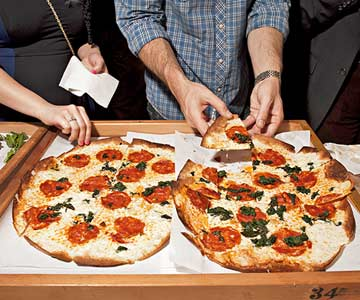 Pizza at party
