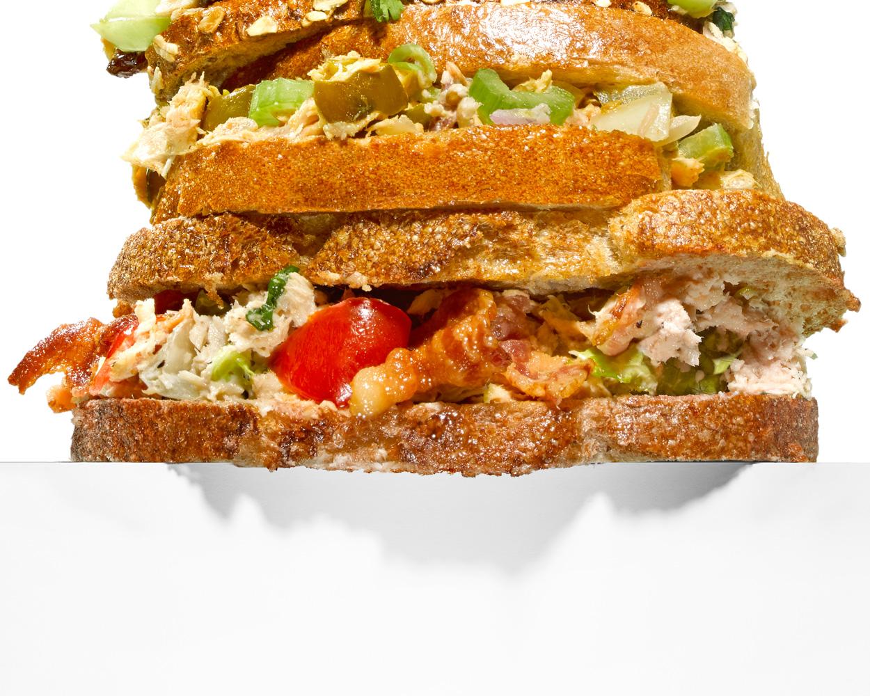 BLTT(una) Salad