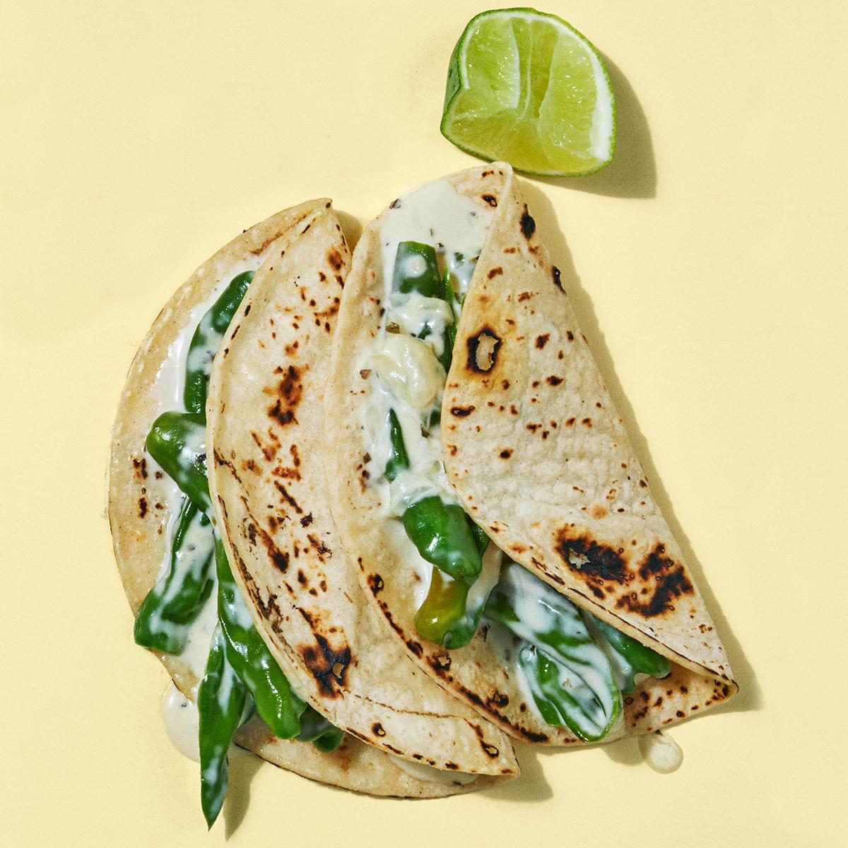 shishito pepper tacos